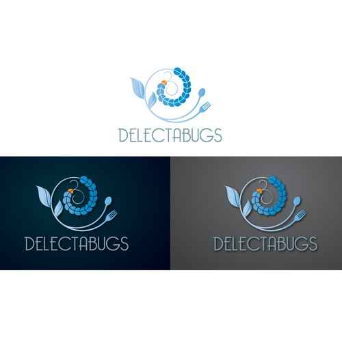 Bold Logo for Delectabugs