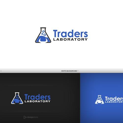 TradersLaboratory.com Logo Design