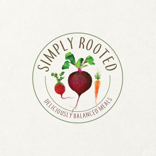 fresh meals logo design