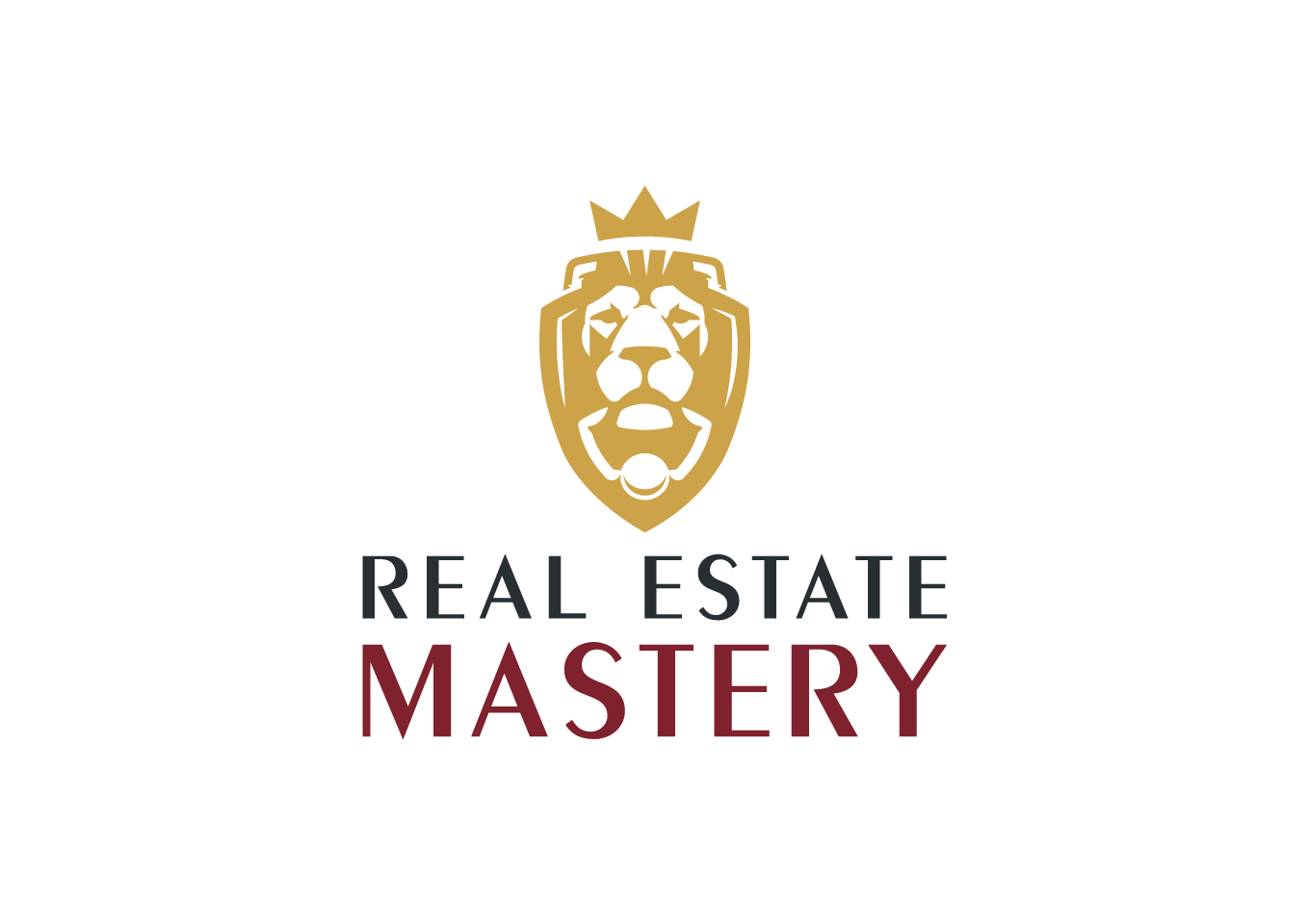 Design lux logo to attract millennials for real estate course.