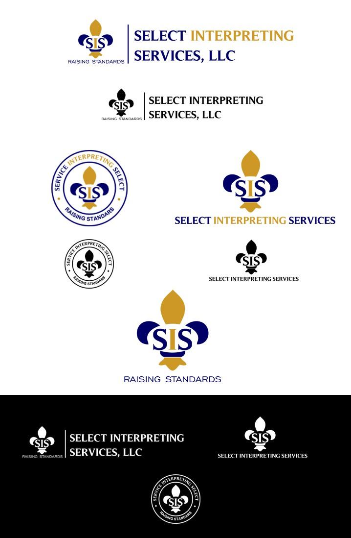 Create a captivating Sign Language Interpreting Agency Logo
