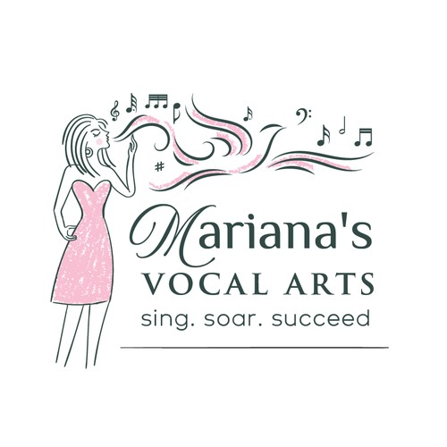 Mariana's Vocal Artist logo