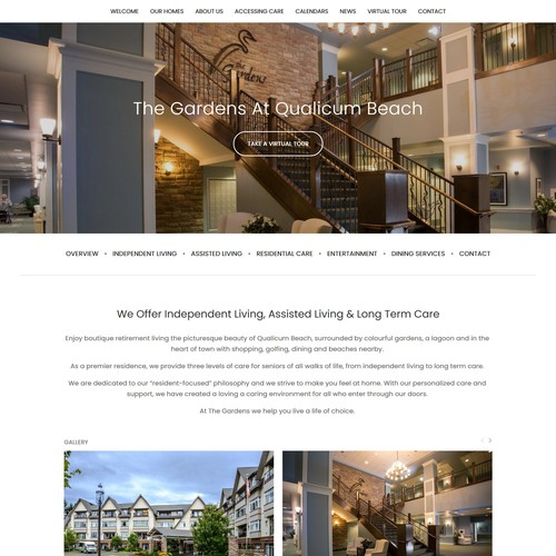 Squarespace Website Redesign - The Care Group