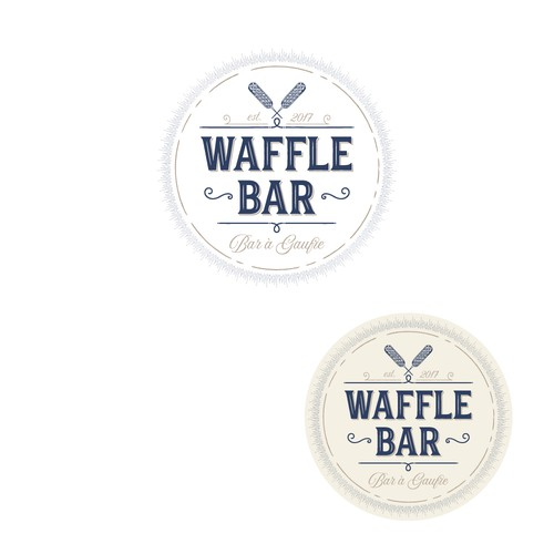 Design a Classic yet Modern Logo For Waffle Bar Inc.