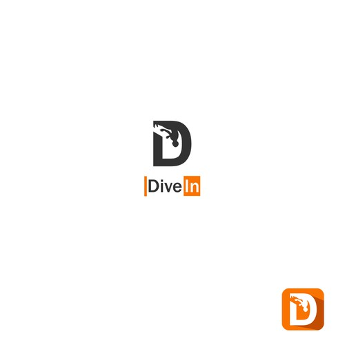 logo concept for Dive in
