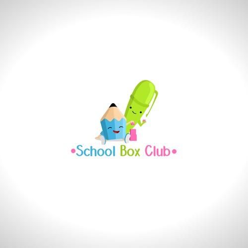School Box Club logo concept