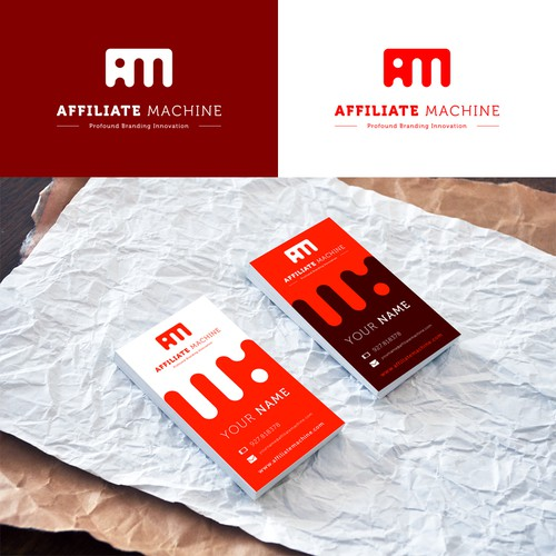 Logo concept for Affiliate Machine