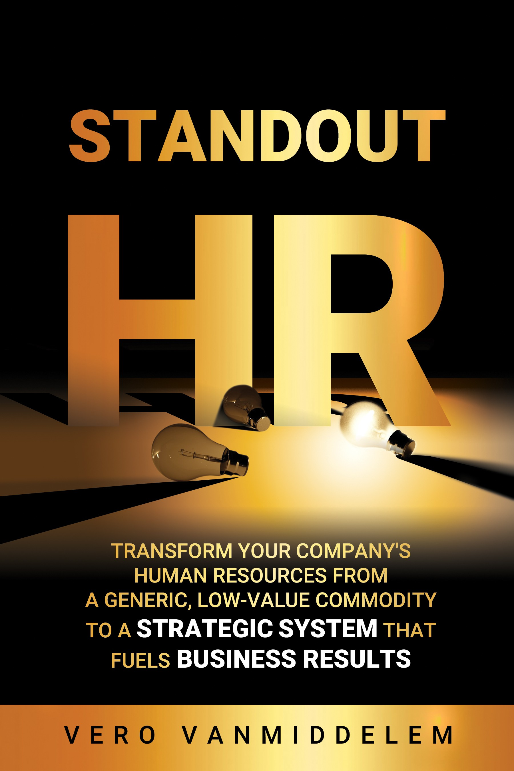 Can you create a Standout Cover Design for a book called Standout HR ?