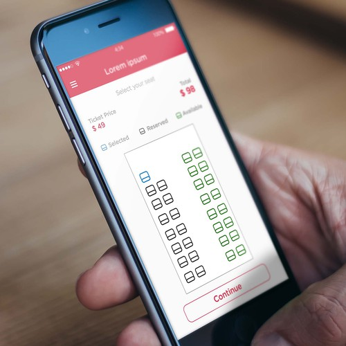 User Friendly Bus Ticket Booking App