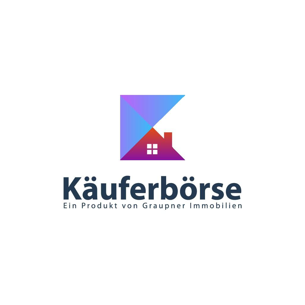 Prägnantes Logo für Kaufgesuche (Immobilien) - modern, farbenfroh, edel