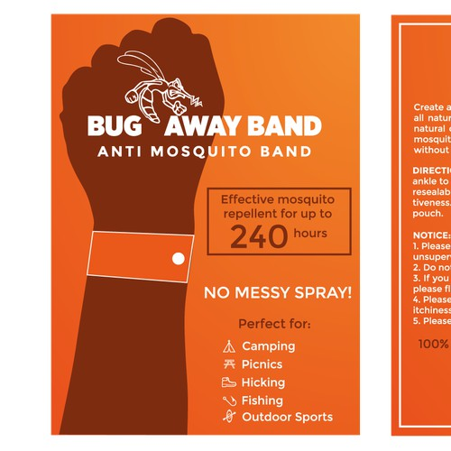 Package for Anti Mosquito Band