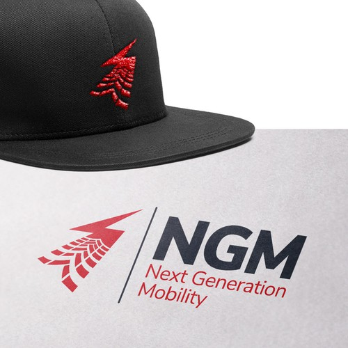 Logo for NGM.