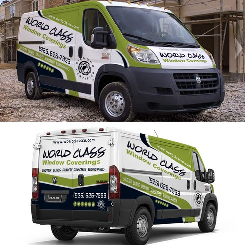 world class van wrapping