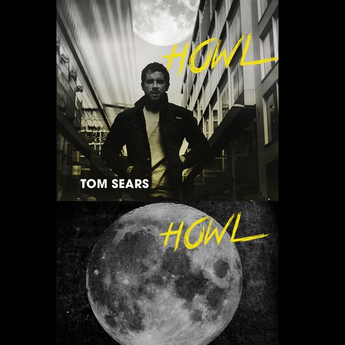 Create a dirty, gritty bluesy album cover for TOM Music