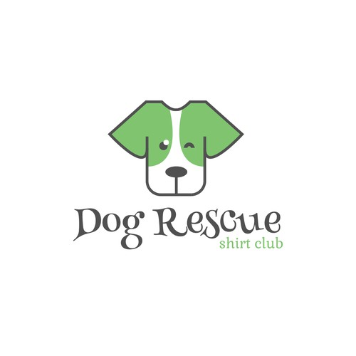 Logo for Dog Rescue Shirt Club