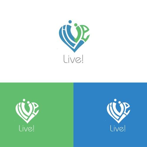 Live logo