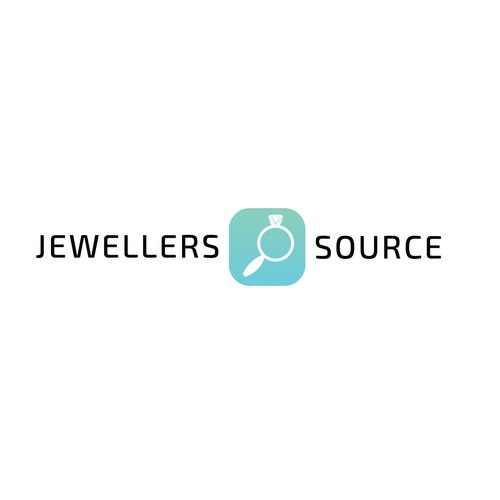 Jewellers Source concept logo