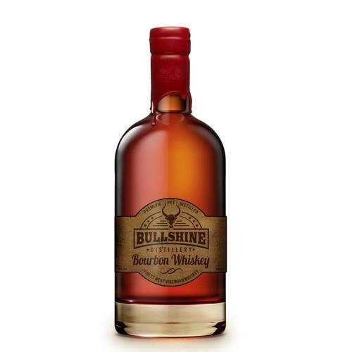 Bourbon Label