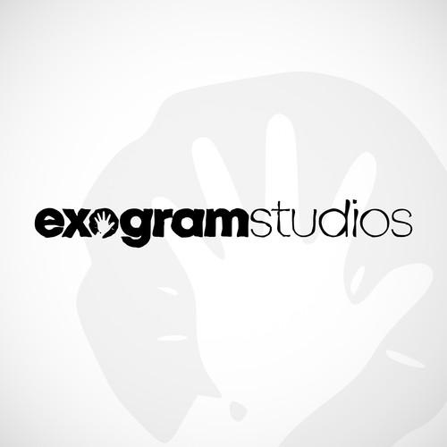 Logo for Exogram Studios music compagny