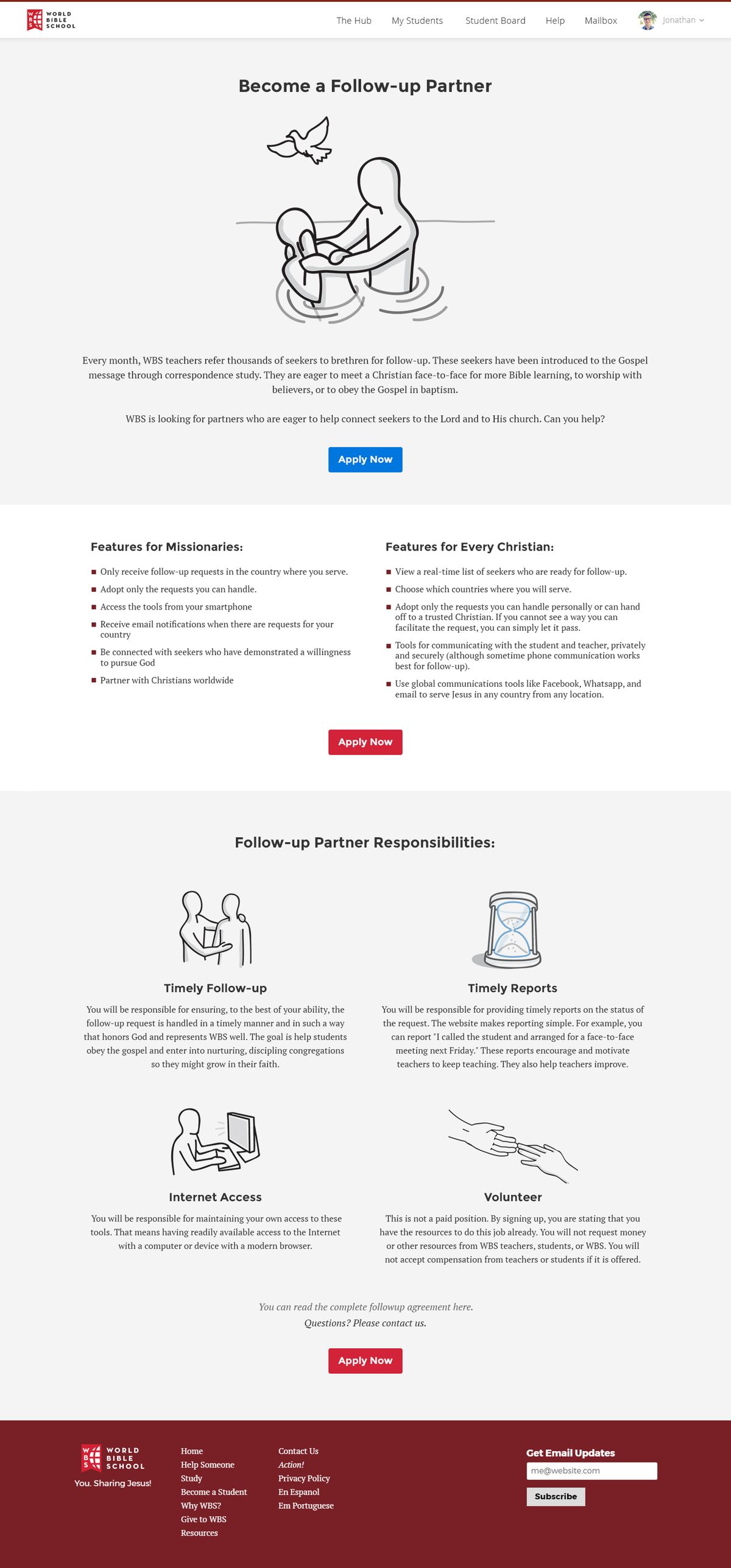 Multiple Followup Page Redesigns