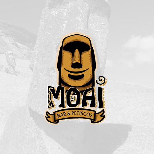 Moai Beach Bar Logo