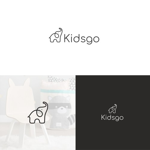 Logo design for kids furniture store