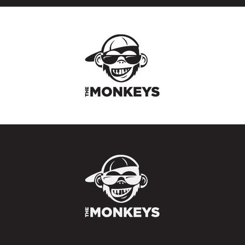 """The MonKeys"" music producer logo"