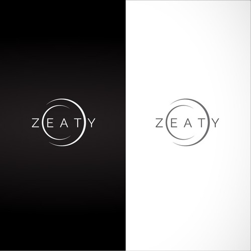 a clever logo for zeaty