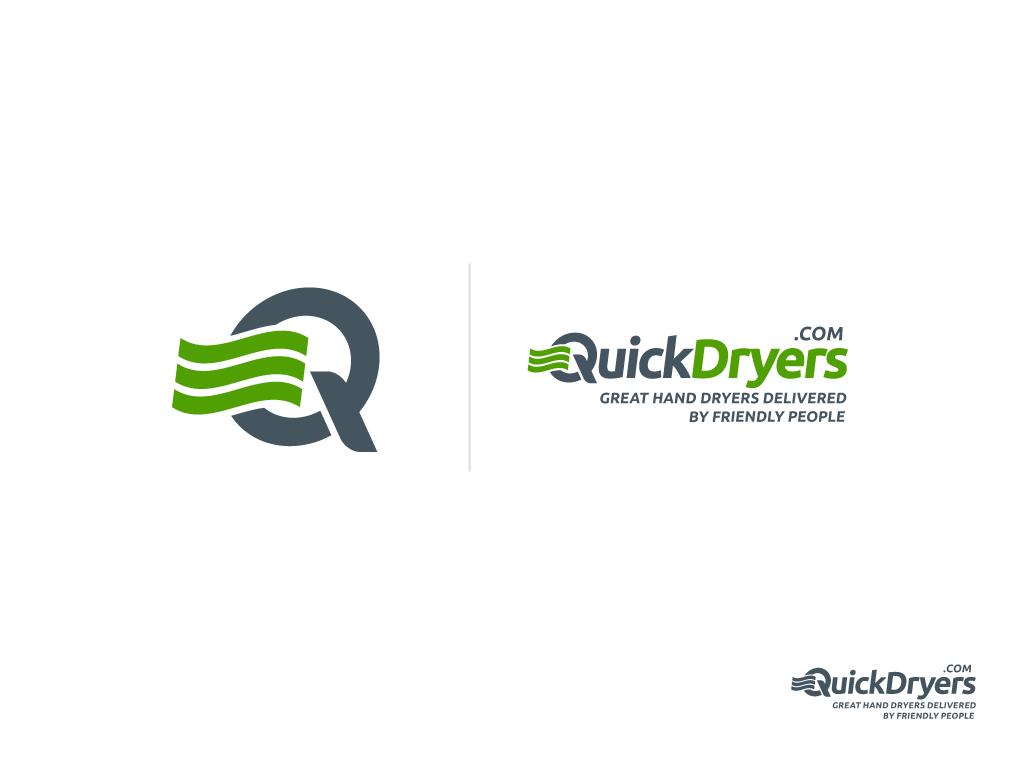 Create the next logo for QuickDryers.com