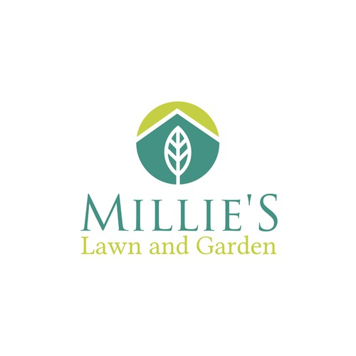 Bold logo concept for landscaping company