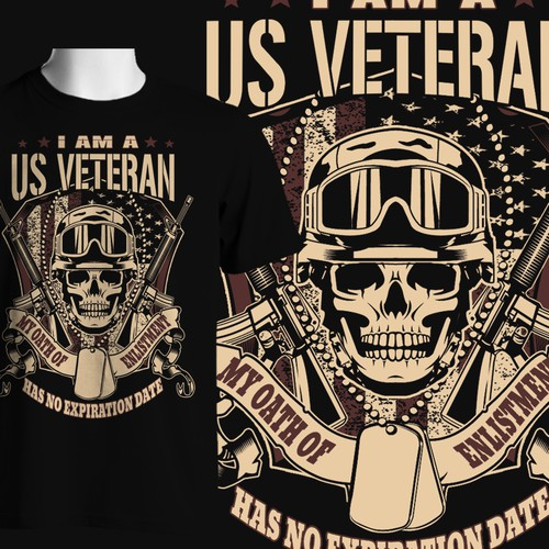 Shirt For US Veterans 3 Guaranteed Winner