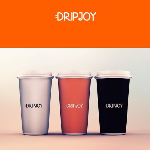 "Logo design for ""DRIPJOY"""