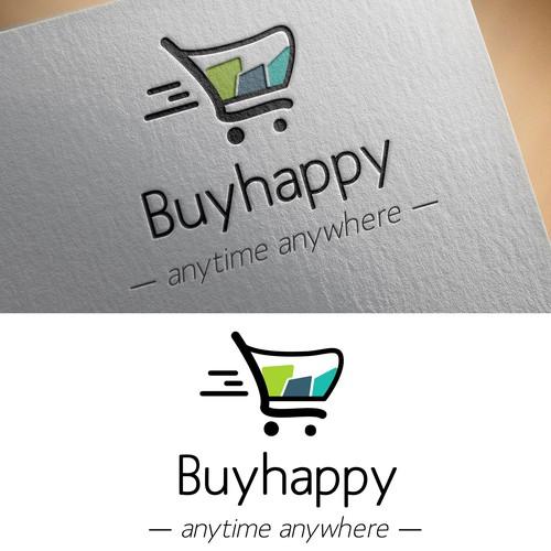 Logo for shopping service