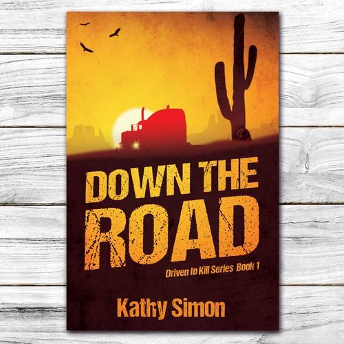 Book cover for thriller novel