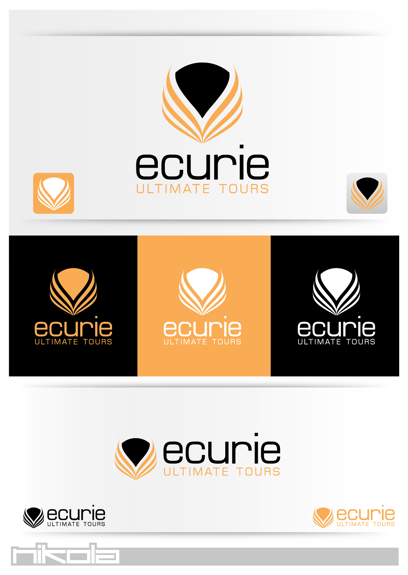 Create the next logo for Ecurie Ultimate Tours