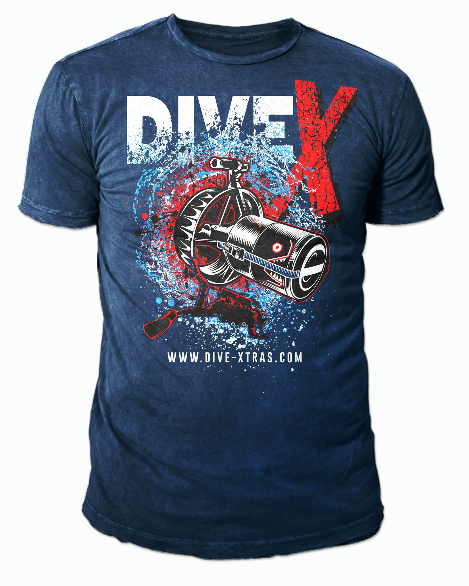 Diving Manufacture Est. in 2003 needs a T-shirt that reflects sustainability with a modern flair