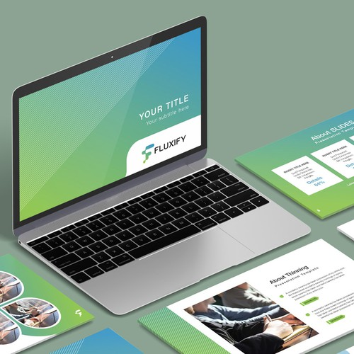 PowerPoint Template for Fluxify