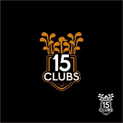 design club golf logo