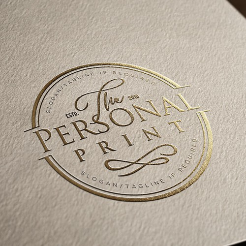 Logo for The Personal Print