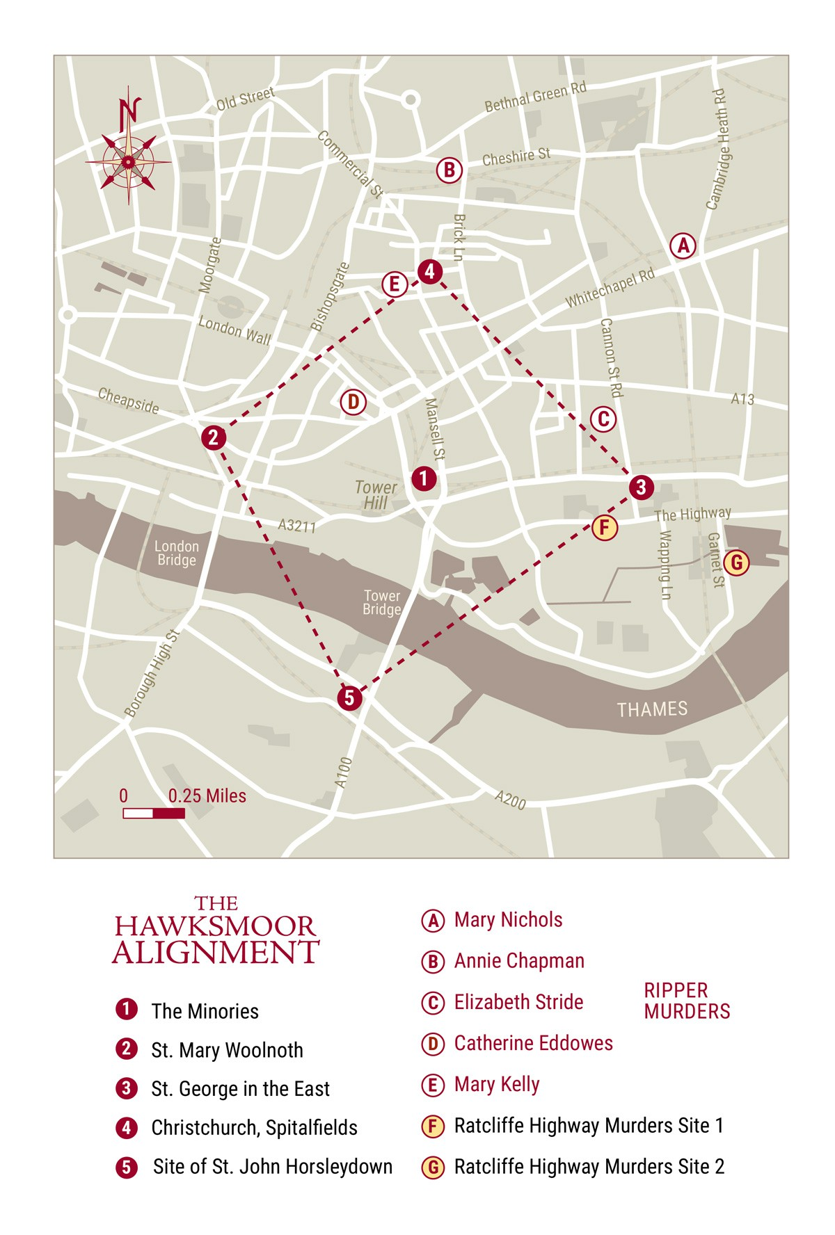 Create 'The Secret Map of London'