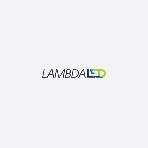 Design a logo for LAMBDA LED