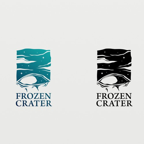 Cool Logo for Frozen Crater