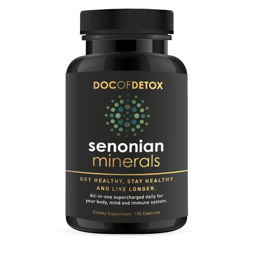 Premium Dietary Supplement Label