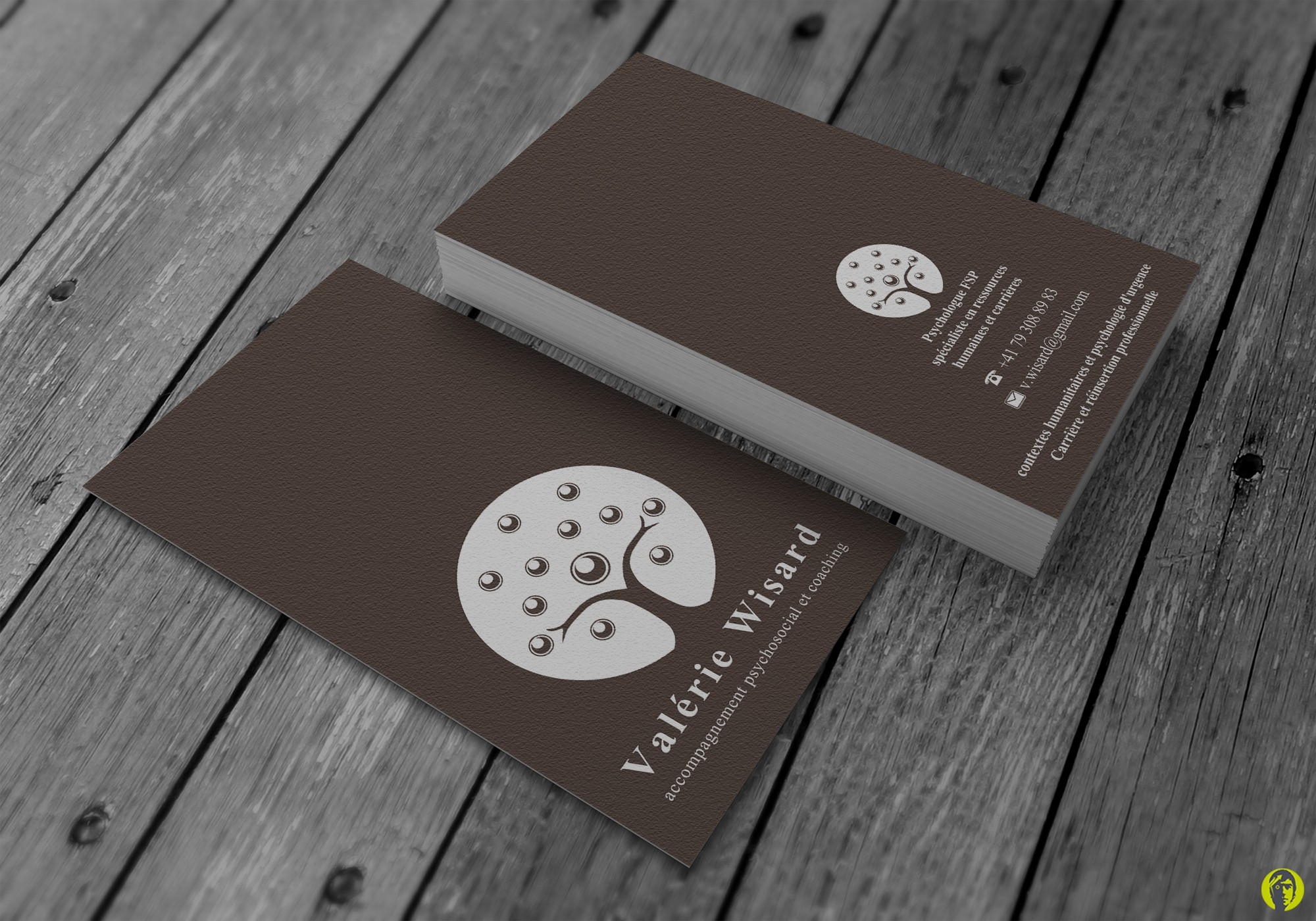 Help a psychologist with a new design business card