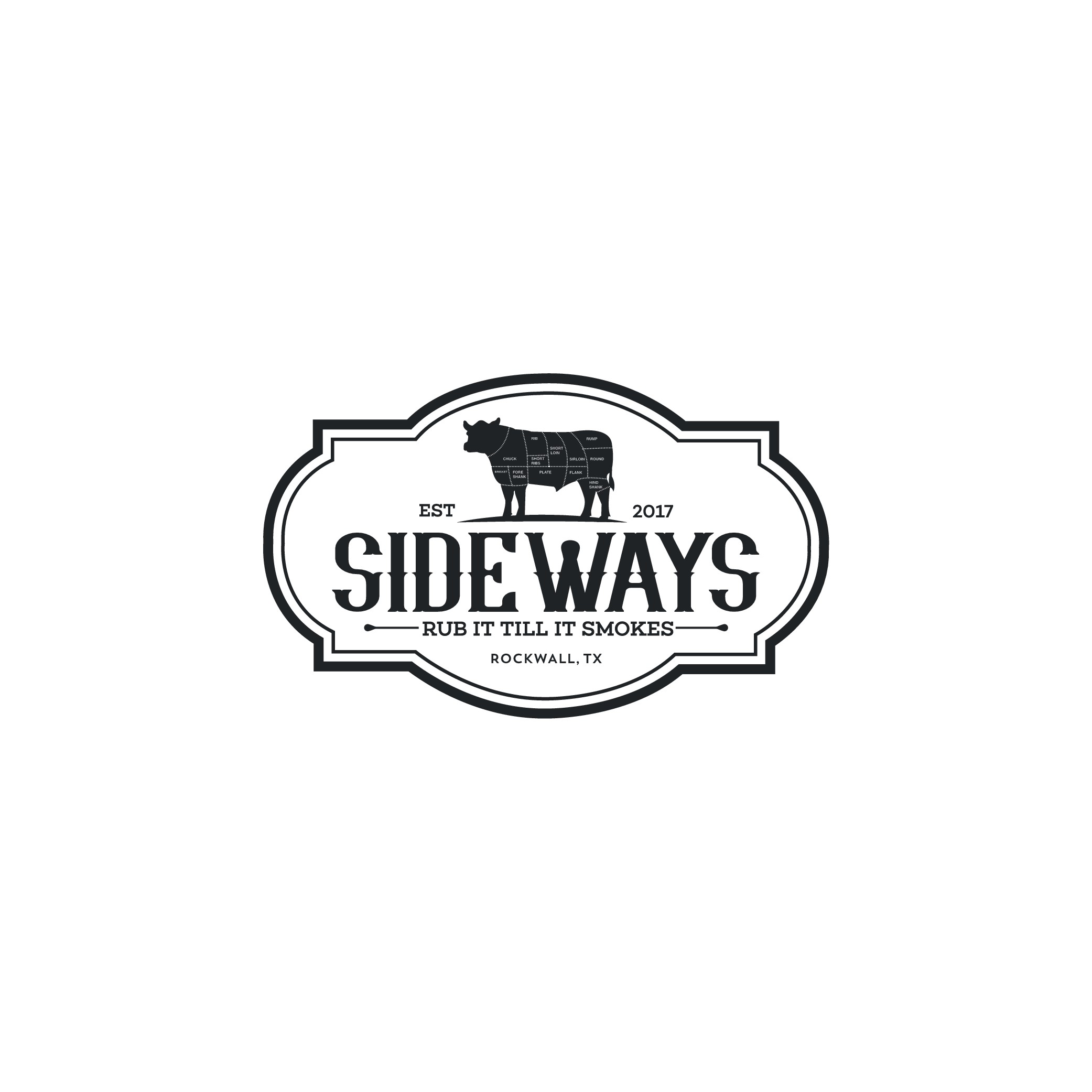Design a Fun and Professional Logo for Sideways BBQ