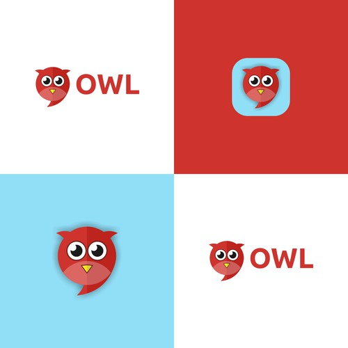Mixing Owl and Speech Bubble