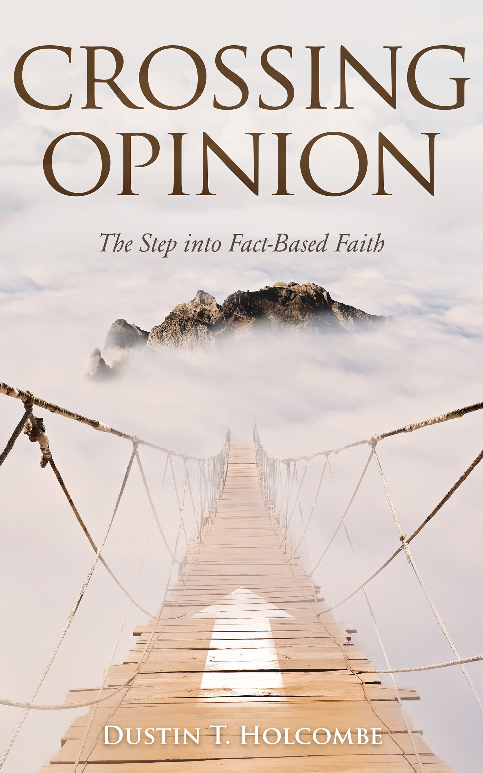 Design a paperback and ebook cover for a non-fiction, Christian apologetics book