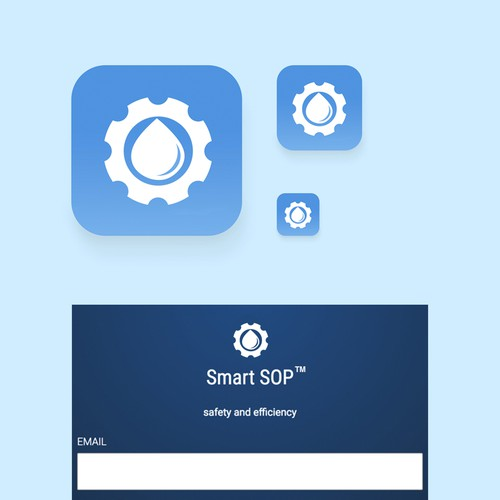 Icon for industrial app.