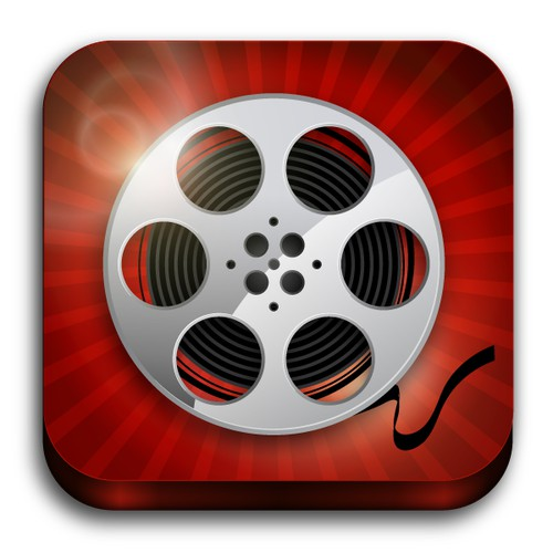 Icon design for iOS app MoviePal
