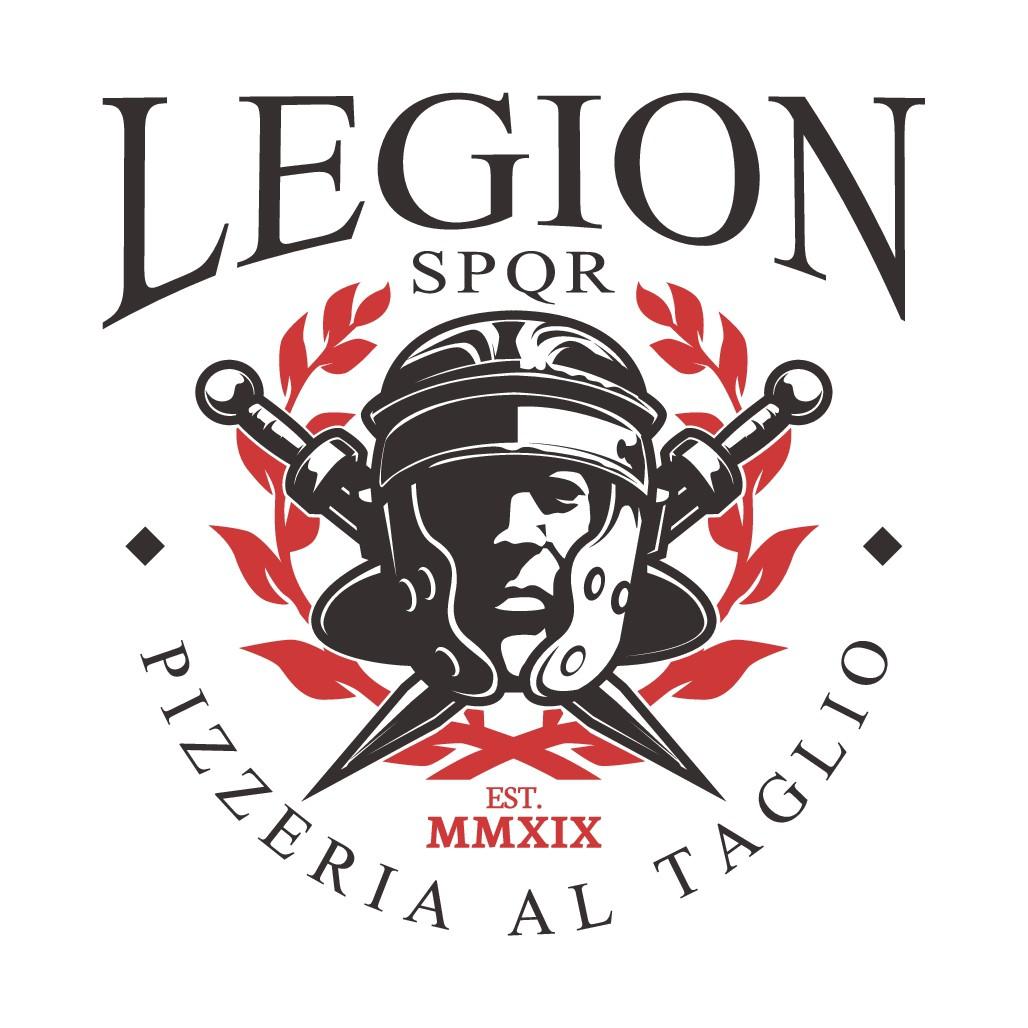 Legion Pizzeria Logo Design
